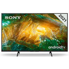טלויזיה 65 4K LED Android TV תוצרת Sony דגם KD-65XH8096BAEP