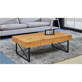 שולחן סלון מעץ תוצרת GAROX דגם DENVER
