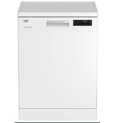 מדיח כלים רחב צג דיגיטלי צבע לבן תוצרת BEKO דגם DFN15410W הדגם החדש