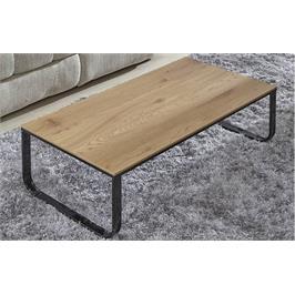 שולחן סלון מעץ בעיצוב חלק דגם RAQUEL