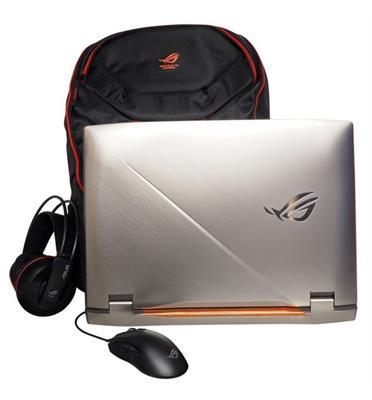 """מחשב נייד 17.3"""" 32GB 512G+1TB SSD מעבד Intel® Core™ i7-9750H תוצרת ASUS דגם G703GXR-EV023T"""