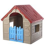 בית ילדים מתקפל מבית KETER דגם Folding Playhouse