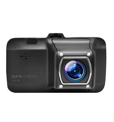מצלמת דרך לרכב עם תאורת לילה מבית Pure Cinema דגם DVR-35