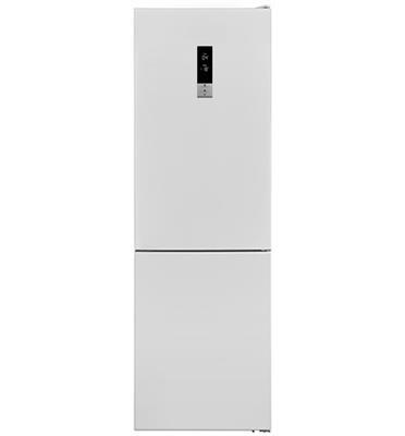 מקרר מקפיא תחתון 327 ליטר בגימור זכוכית לבנה No-Frost מבית נורמנדה דגם KL373W