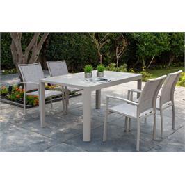 מערכת גן כוללת שולחן שניתן לארח עד 8 סועדים מבית SCAB דגם JOY 1500
