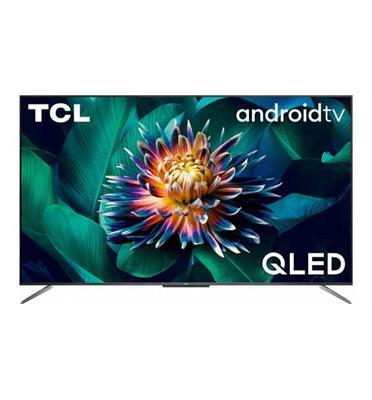 טלוויזיה 55 QLED UHD Android TV 4K עם חווי שלט קולי תוצרת TCL דגם 55C715