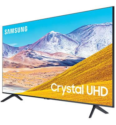 טלוויזיה 55 LED 4K SMART TV Crystal UHD תוצרת SAMSUNG דגם UE55TU8000