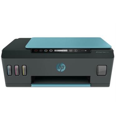 מדפסת צבעונית רב תכליתית תוצרת HP דגם HP Smart Tank 516 Wireless צבע ירוק/אדום