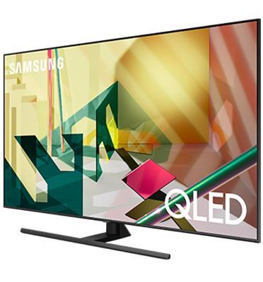 טלוויזיה 55 עם בינה מלאכותית QLED 4K SMART TV AI תוצרת SAMSUNG דגם QE55Q70T