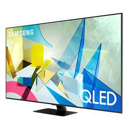 טלוויזיה 75 עם בינה מלאכותית, QLED 4K SMART TV Direct Full Array תוצרת SAMSUNG דגם QE75Q80T