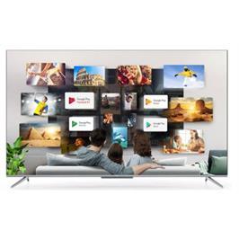 טלוויזיה 75 LED UHD Android TV 4K עם חווי שלט קולי תוצרת TCL דגם 75P715