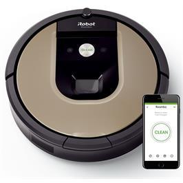 שואב אבק iRobot מסדרה 900 מנקה בעוצמה חזקה יותר ויעילה יותר דגם iRobot 976