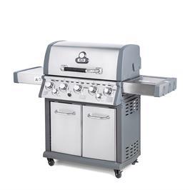גריל גז קינג 5 מבערים 72000 BTU בגימור נירוסטה + כירת צד ומבער אינפרא מבית Australia Chef