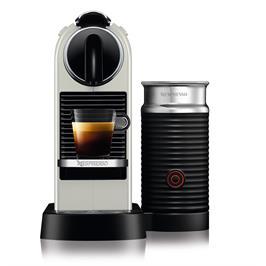 מכונת קפה NESPRESSO דגם סיטיז אנד מילק בצבע לבן דגם D123