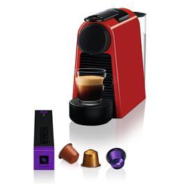 מכונת קפה NESPRESSO אסנזה מיני בצבע אדום דגם D30