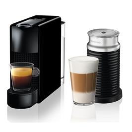 מכונת קפה NESPRESSO אסנזה מיני בצבע שחור דגם C30 כולל מקציף חלב ארוצ'ינו
