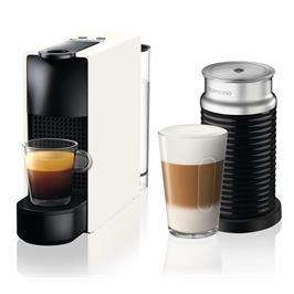 מכונת קפה NESPRESSO אסנזה מיני בצבע לבן דגם C30 כולל מקציף חלב ארוצ'ינו