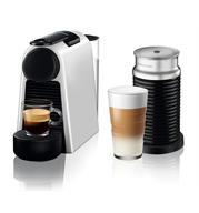 מכונת קפה NESPRESSO אסנזה מיני בצבע כסוף דגם D30 כולל מקציף חלב ארוצ'ינו  (מהדורה מוגבלת)