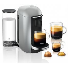 מכונת קפה VertuoPlus מבית NESPRESSO דגם GCB2 בגוון כסוף
