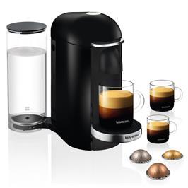 מכונת קפה VertuoPlus מבית NESPRESSO דגם GCB2 בגוון שחור