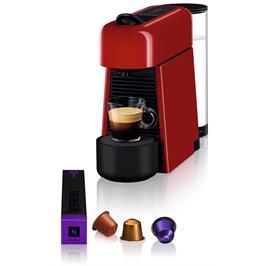 מכונת קפה NESPRESSO אסנזה פלוס בגוון אדום דגם D45