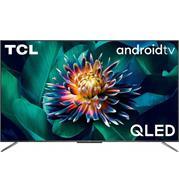 טלוויזיה 50 UHD QLED ANDROID TV עם חווי שלט קולי תוצרת TCL דגם 50C715