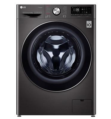 """מכונת כביסה פתח קידמי 12 ק""""ג 1400 סל""""ד מנוע INVERTER תוצרת LG דגם F1612SBS"""