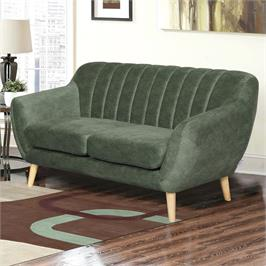ספה דו מושבית מעוצבת עם קפיצים מבודדים ובד רחיץ HOME DECOR דגם פורטו