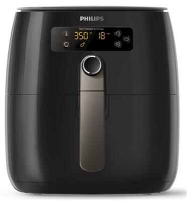 """סיר טיגון ללא שמן בנפח 0.8 ק""""ג בצבע שחור דגם HD9741/10 תוצרת Philips"""