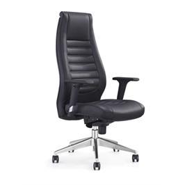 כיסא מנהלים סינכרוני עם גב גבוה ורגל מתכת דגם יופיטר