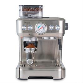 מכונת אספרסו 1500W עוצמה גבוה 20 BAR מבית HOTPOINT דגם CM-5700A-GS