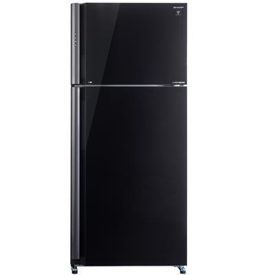 מקרר 2 דלתות בנפח 587 ליטר מבית  שארפ Multi Air Flow,AG+Nano Deodorizer דגם SJGP75DBK