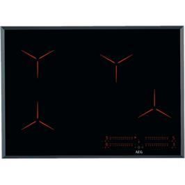 """כיריים אינדוקציה 70 ס""""מ MAXISENSE ® Pure Black תוצרת AEG דגם IPE74541FB"""