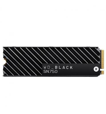 כונן פנימי WD_BLACK SN750 NVMe™ SSD 500GB - גוף קירור מובנה