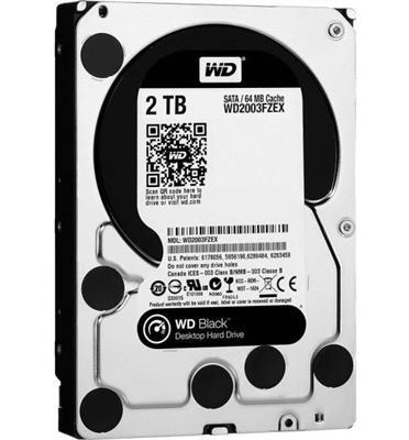 כונן פנימי WD2003FZEX 3.5 BLACK 2T