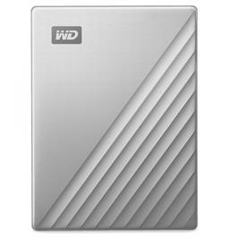 כונן חיצוני WD My Passport Ultra 1TB - כסף דגם WDBC3C0010BSL