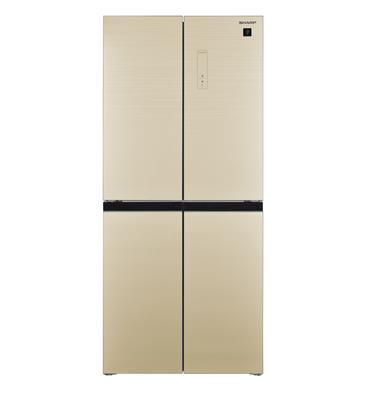 מקרר 4 דלתות בנפח כולל 472 ליטר הפעלה חיצונית תוצרת SHARP דגם SJ8435CH