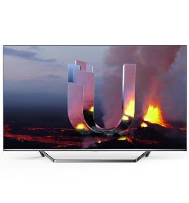 """טלוויזיה 55"""" 4K SMART TV תוצרת Hisense דגם 55U7QFIL"""