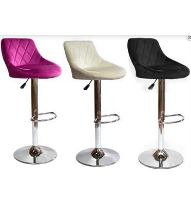 2 כסאות בר מבית ROSSO ITALY דגם MSH-1-14 במגוון צבעים לבחירה