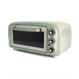 טוסטר אובן 18 ליטר בעיצוב רטרו 1380W תוצרת ARIETE דגם 979 צבע ירוק