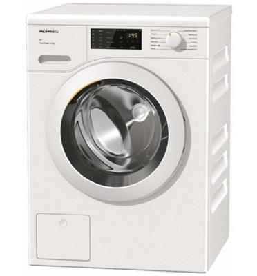 """מכונת כביסה פתח חזית 8 ק""""ג 1400 סל""""ד מהסדרה החדשה תוצרת MIELE דגם WCD120"""