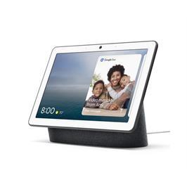 רמקול חכם בעל מסך Google Nest Hub Max עם עוזרת קולית Google Assistant שחור