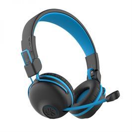 אוזניות גיימינג אלחוטיות לילדים עם מיקרופון בום נשלף תוצרת JLAB דגם JBuddies PlayGam
