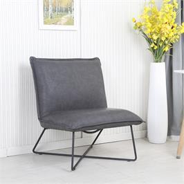 כורסא מעוצבת בריפוד רחיץ עם רגלי מתכת HOME DECOR דגם ארד
