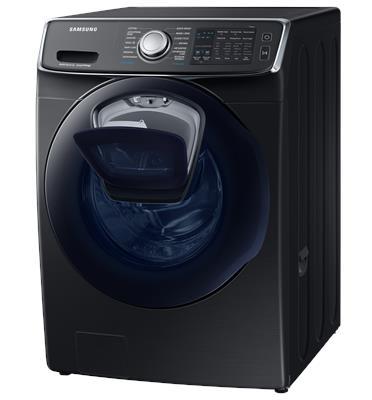 """מכונת כביסה חכמה 17 ק""""ג משולבת מייבש 9 ק""""ג בטכנולוגיית Eco Bubble תוצרת Samsung דגם WD17N7550KV"""