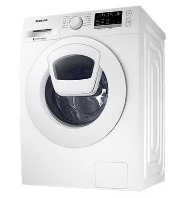 """מכונת כביסה פתח חזית 9 ק""""ג 1,400 סל""""ד AddWash+Eco Bubble תוצרת SAMSUNG דגם WW90K4430YW"""