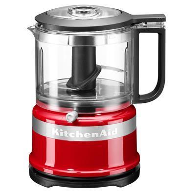 קוצץ מזון חשמלי 240W בעיצוב קומפקטי וקל מבית KITCHENAID דגם 5KFC3516EER צבע אדום
