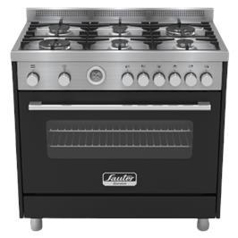 """תנור משולב יוקרתי בעיצוב תעשייתי ואלגנטי במיוחד רוחב 90 ס""""מ תוצרת SAUTER דגם PRO5000B"""