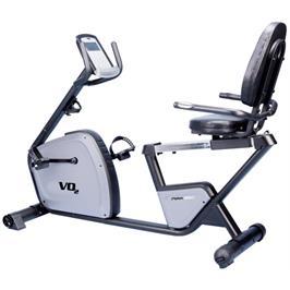 אופני כושר עם שלדת אופניים מסיבית תומכת במנגנון פעולה חלק תוצרת VO2 דגם Max350