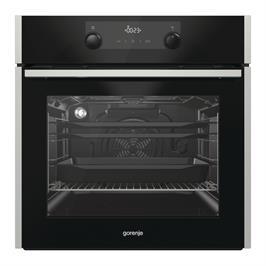 """תנור Gorenje בנוי 60 ס""""מ פירוליטי משולב נירוסטה מדגם BOP737E14XG"""